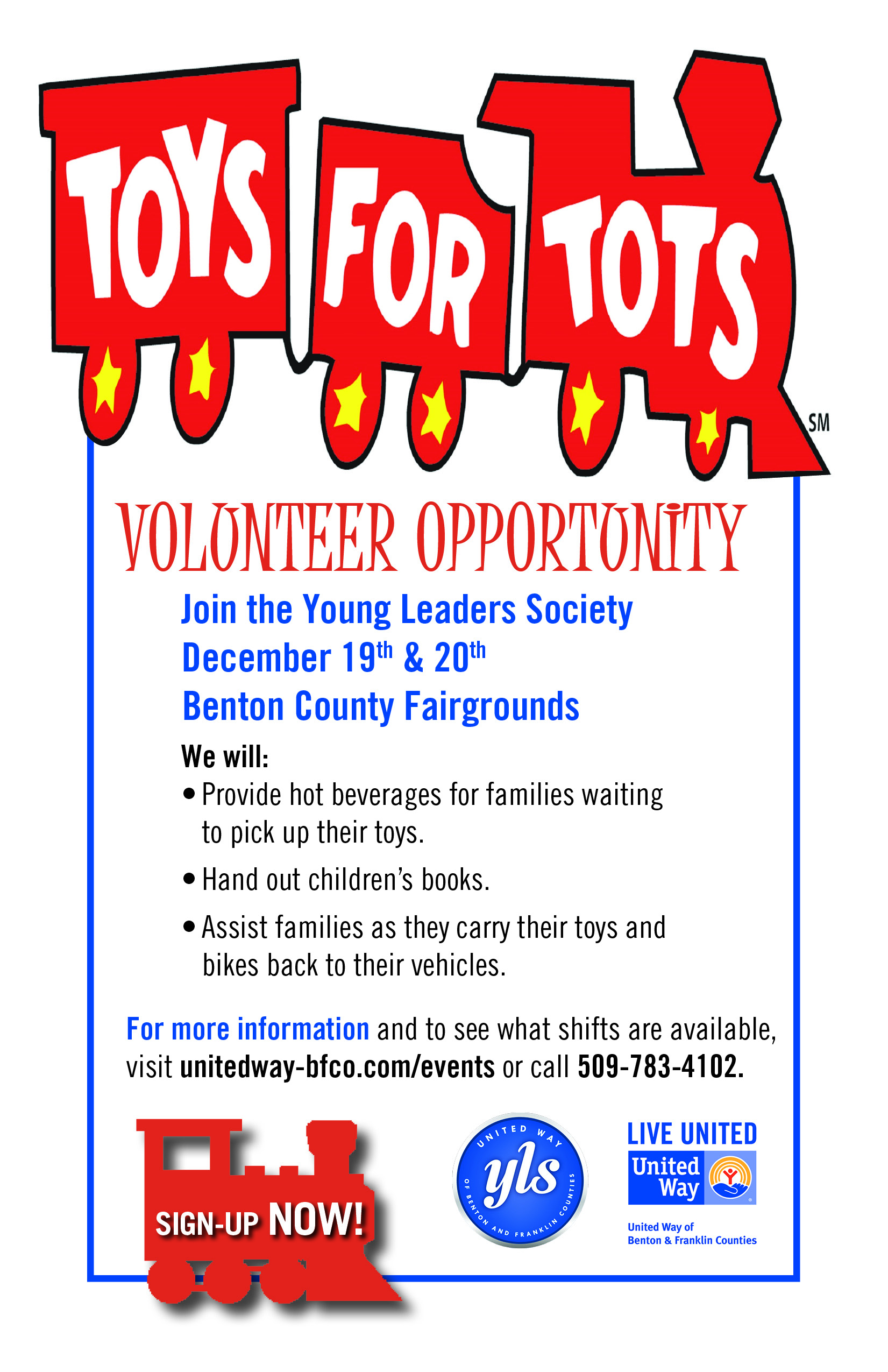 Toys For Tots Application : Yls toys for tots volunteer project united way of benton